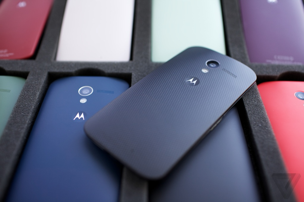 The Moto X (image from The Verge)